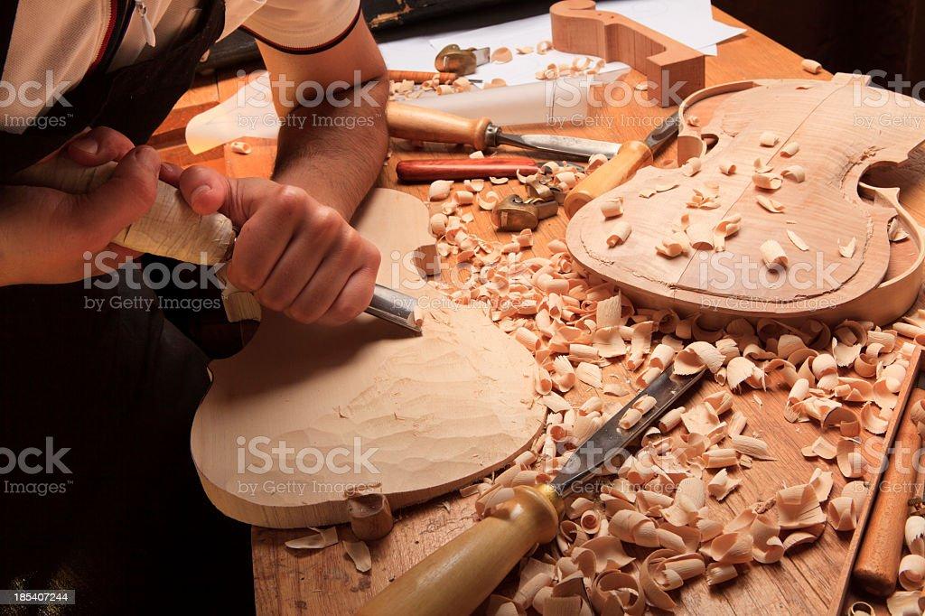 Instrument Maker stock photo