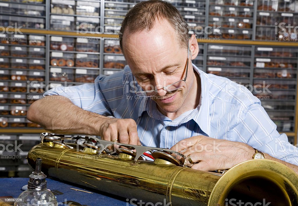 instrument maker serie royalty-free stock photo