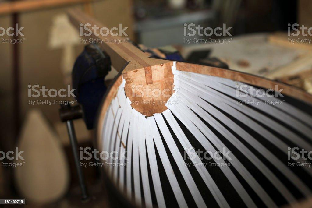 Fabricante de Instrumento's Studio foto royalty-free