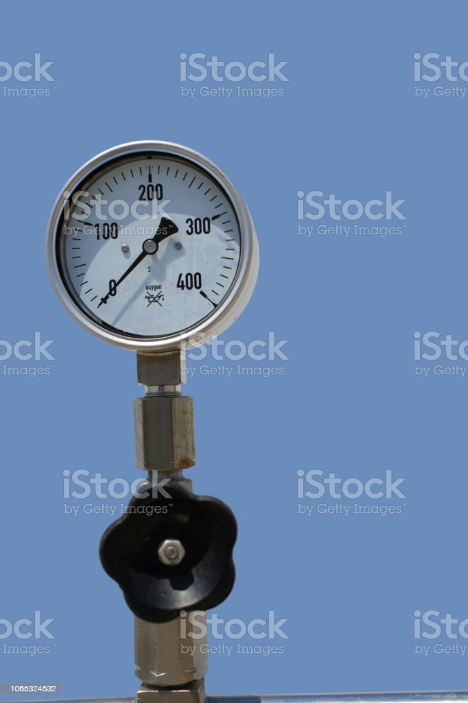 Instrument of measurement of the industrial unit of heating system