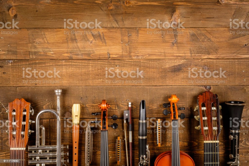 instruments background stock photo