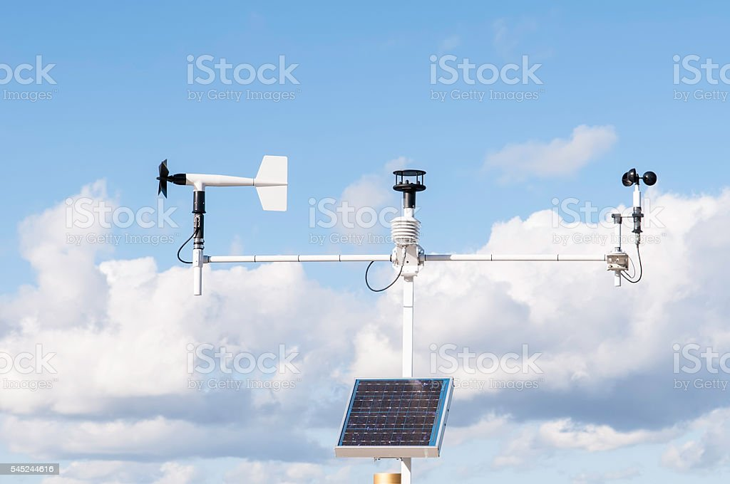 Instruments for climate analysis - foto stock