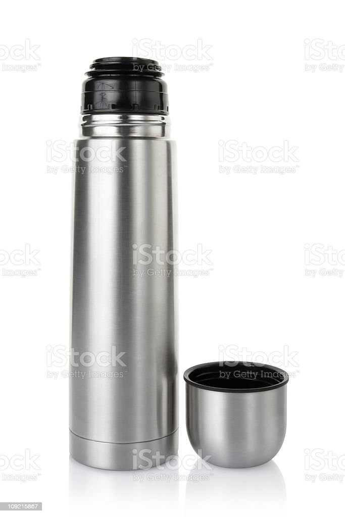 Insulated drink container royalty-free stock photo