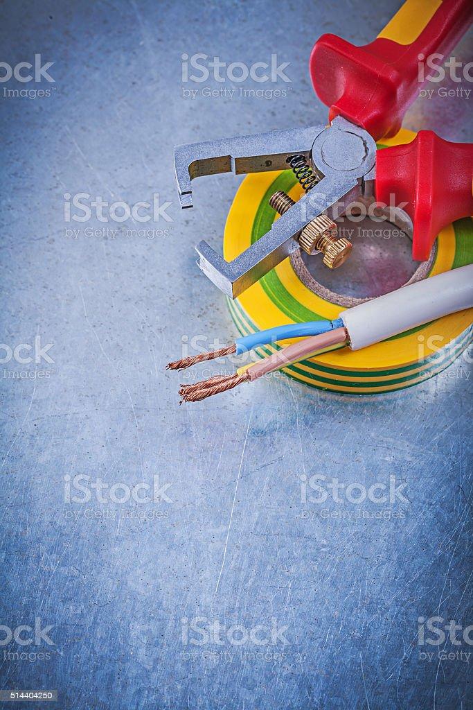 Isolierte Stripperinnen Isolierung Elektrische Kabel Mit ...