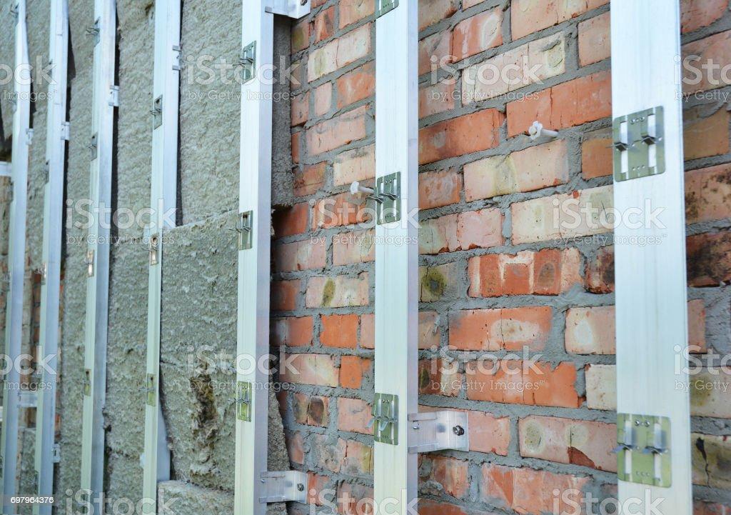 isolation maison en brique