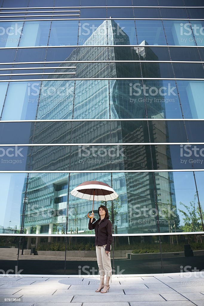 Insurance agent royalty-free stock photo