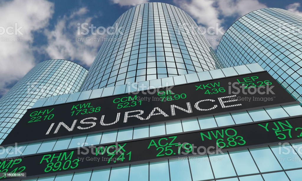 Insurance Companies Stock Market Industry Sector Wall Street...
