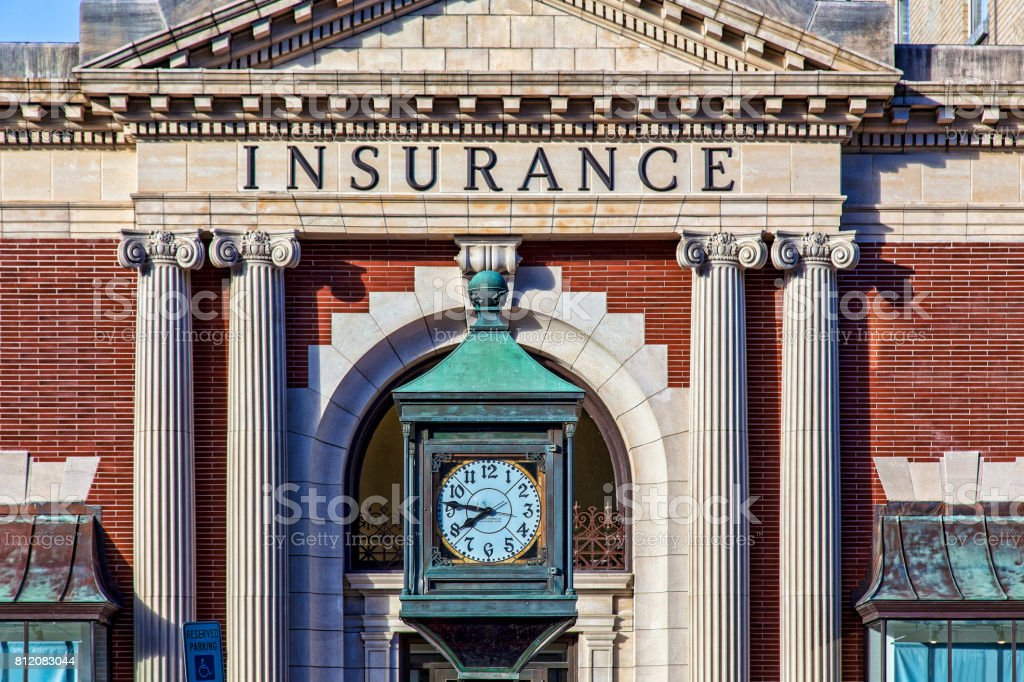 Insurance company stock photo