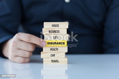 istock Insurance Concept with Related Keywords 638255400