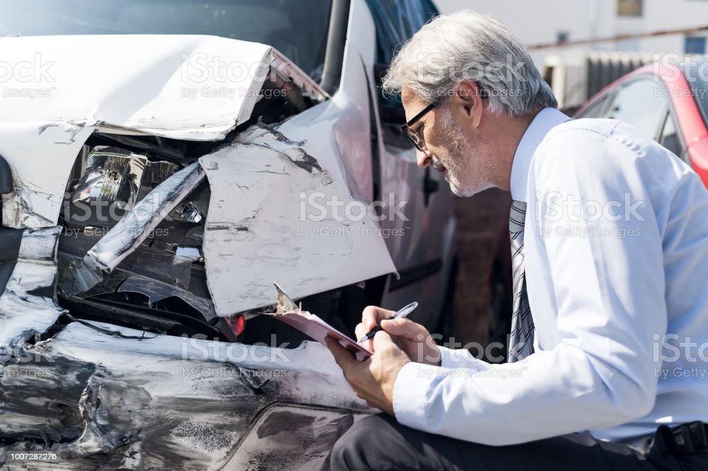 Versicherung Experte bei der Arbeit - Lizenzfrei 2018 Stock-Foto