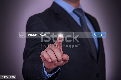 683425144 istock photo Insurance on Search Engine 484018492