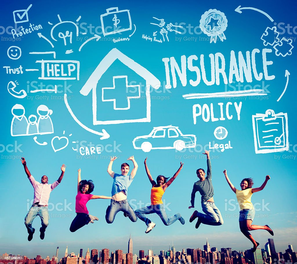 Insurance Policy Help Legal Care Trust Protection Protection Con stock photo