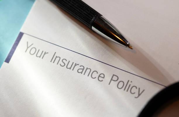 sigorta poliçesi - insurance stok fotoğraflar ve resimler