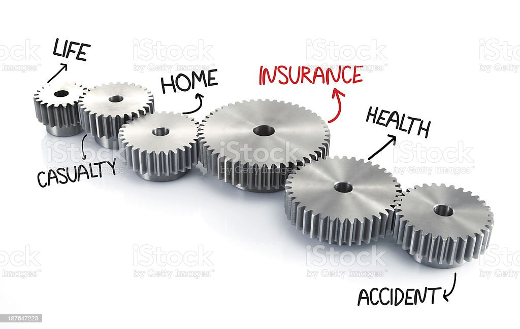 Insurance Process royalty-free stock photo