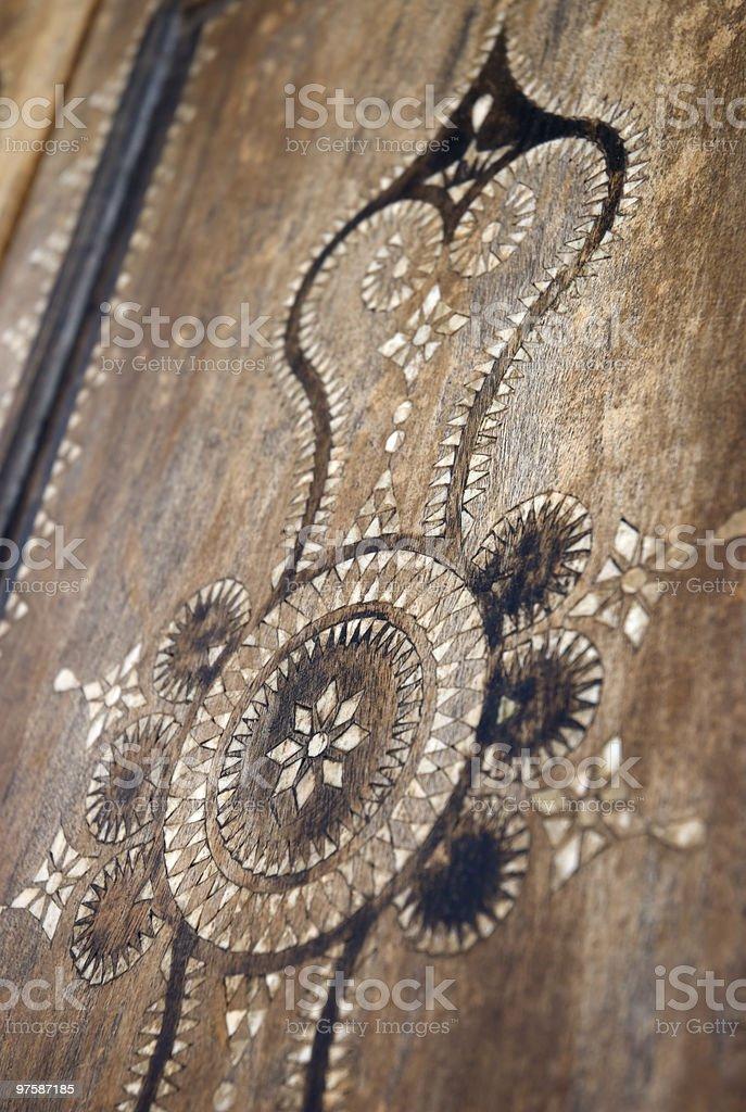 Intarsia royaltyfri bildbanksbilder