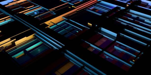 Integrated Circuit Design stock photo
