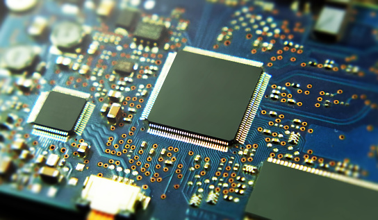 istock Integrated circuit 1065567574