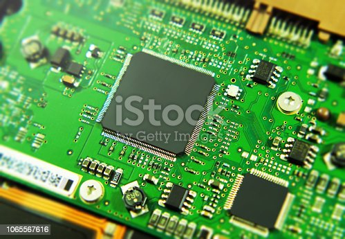istock Integrated circuit 1065567616