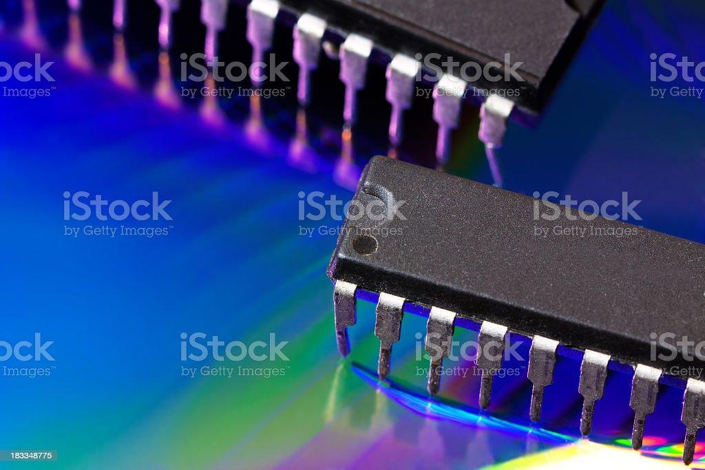 Integrated Circuits royalty-free stock photo