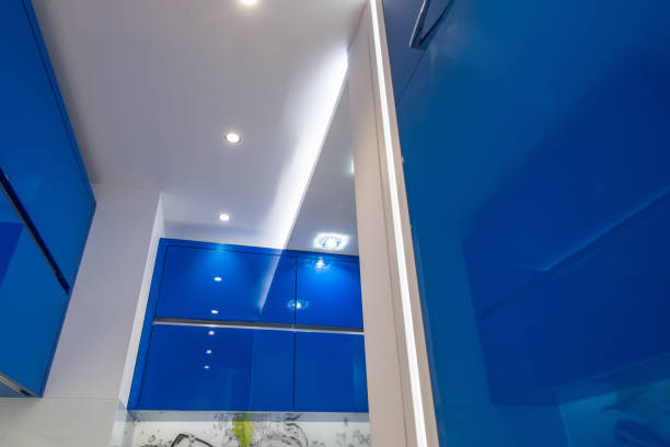 Integrated elements in modern blue kitchen picture id934138792?b=1&k=6&m=934138792&s=612x612&w=0&h=8163hgb8motmsvpftq1shtwhihm5m qhzz85 a6i0fm=