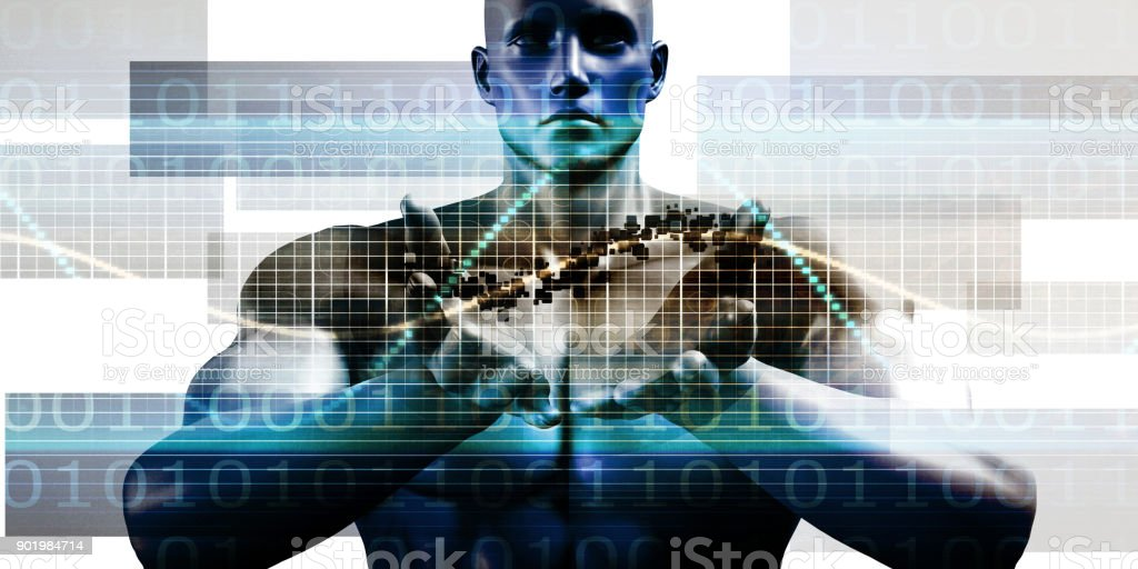 Integrated System stock photo
