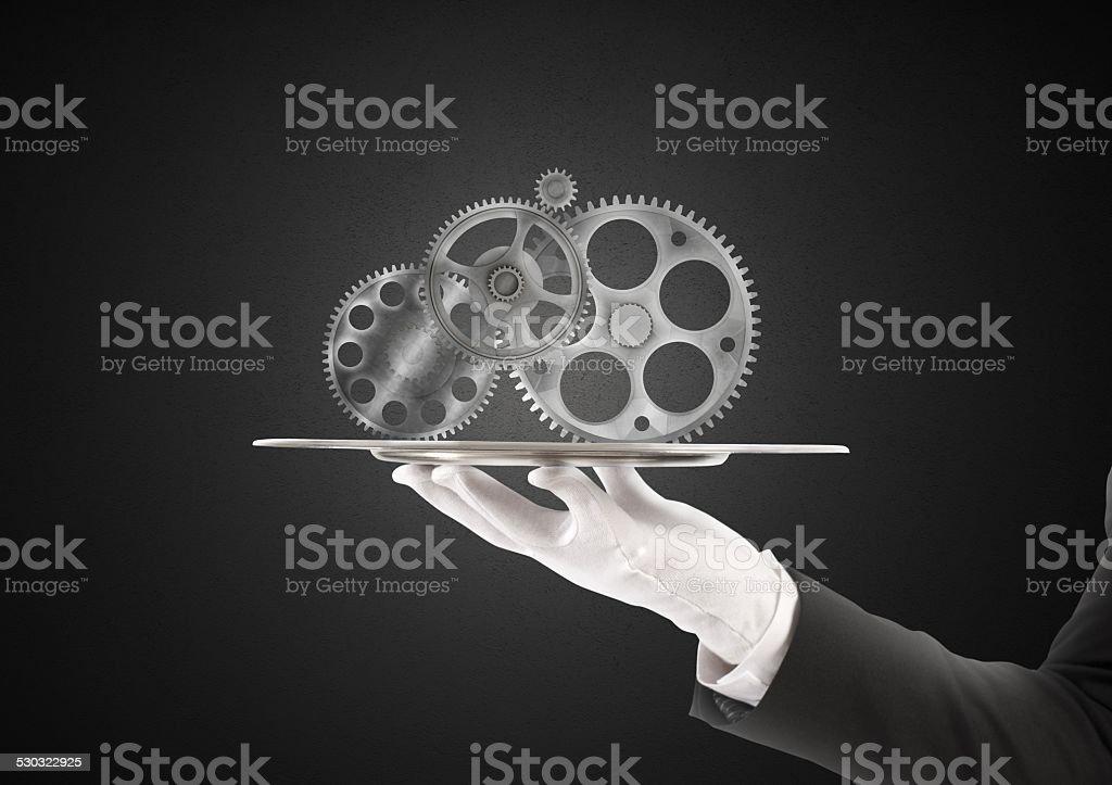 Integration assistance stock photo