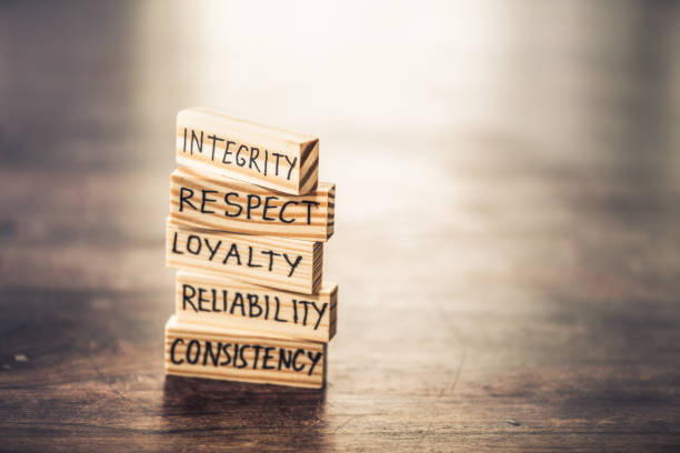 Integrity concept stock photo