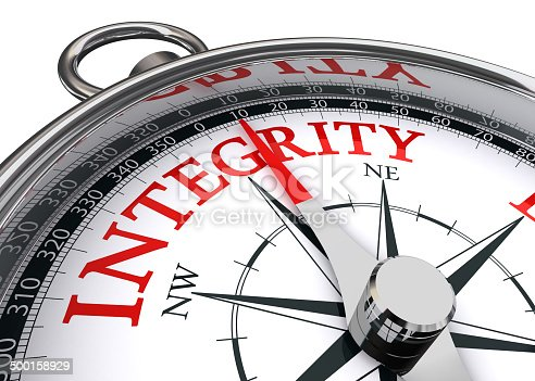 859525326 istock photo integrity conceptual compass 500158929