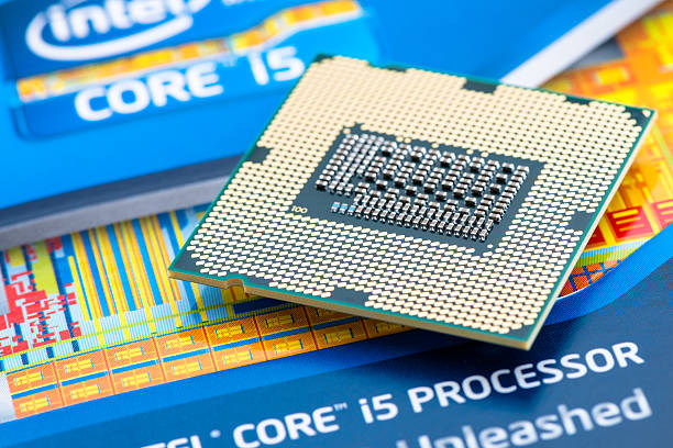Intel Processor Core i5 2500K ozd, Hungary - August 24, 2012: Intel Processor Core i5 2500K Intel stock pictures, royalty-free photos & images