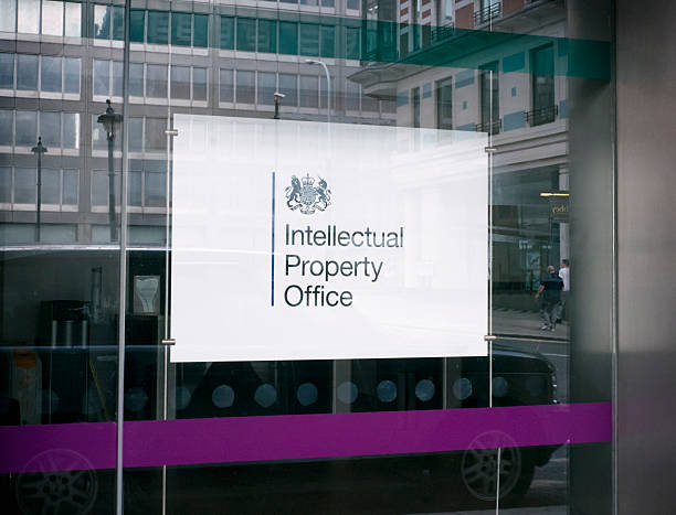 Intellectual Property Office - sign stock photo