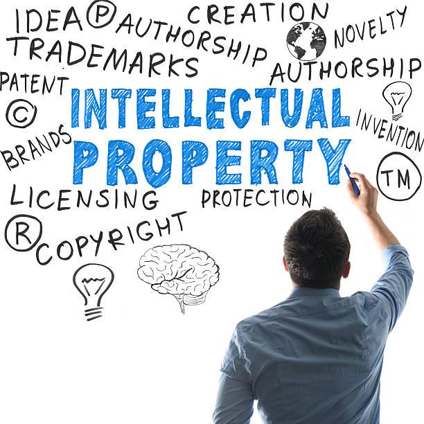 propriété intellectuelle - marque déposée photos et images de collection