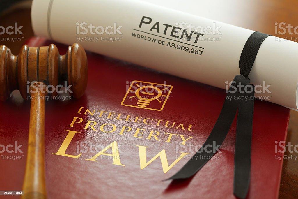 Propriété intellectuelle photo libre de droits