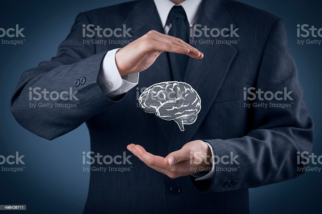 Intellectual property protection stock photo