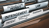 istock Intellectual Property Rights, Copyright, Patent or Trademark Infringement 1054513236