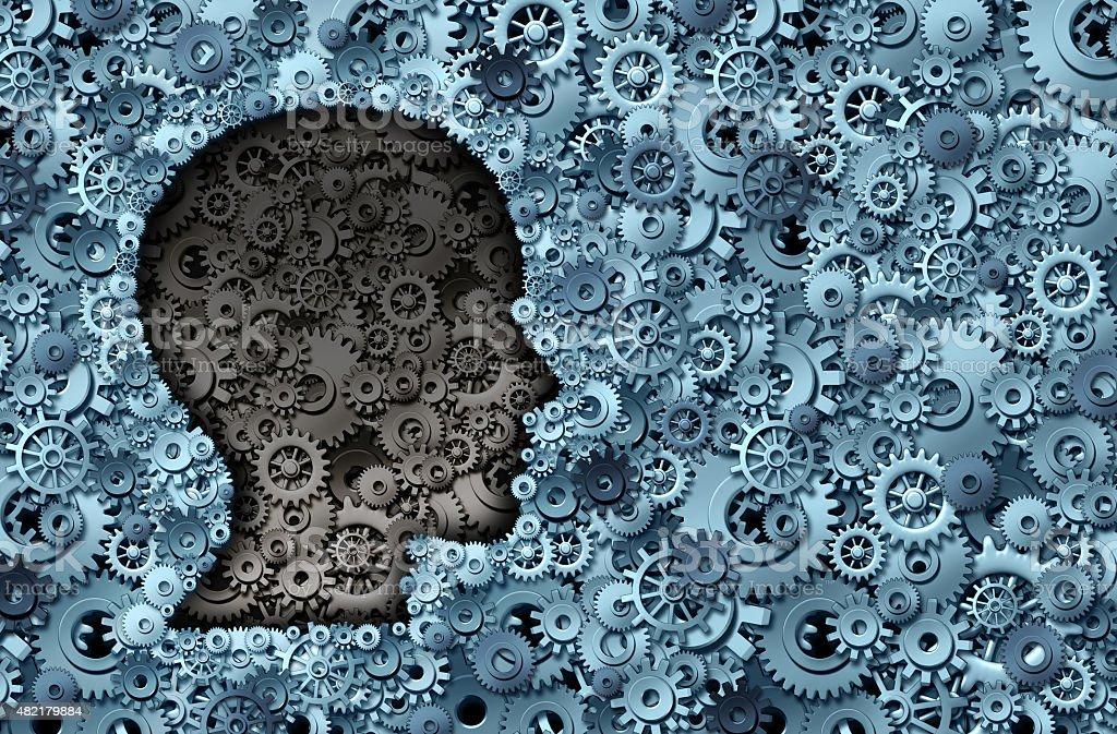 Intelligence Machine stock photo