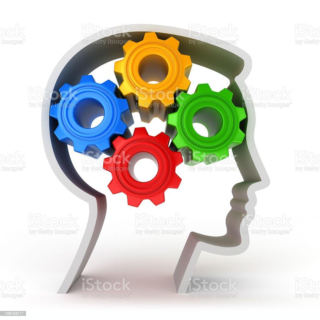 intelligence - Royalty-free Color Image Stock Photo