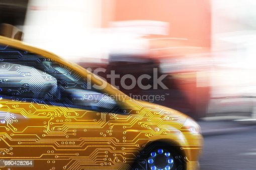 istock Intelligent car electronics 690428264