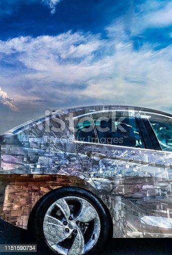 istock Intelligent self driving smart car 1151590734