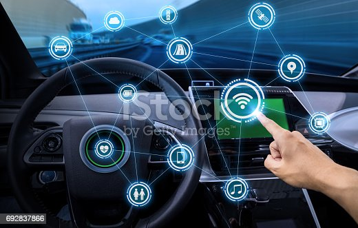 istock intelligent vehicle cockpit and wireless communication network concept 692837866