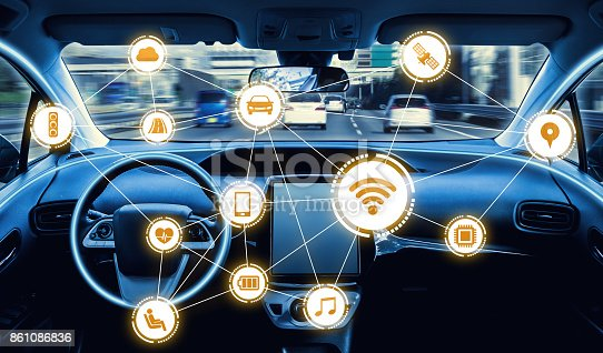 istock intelligent vehicle cockpit and wireless communication network concept 861086836