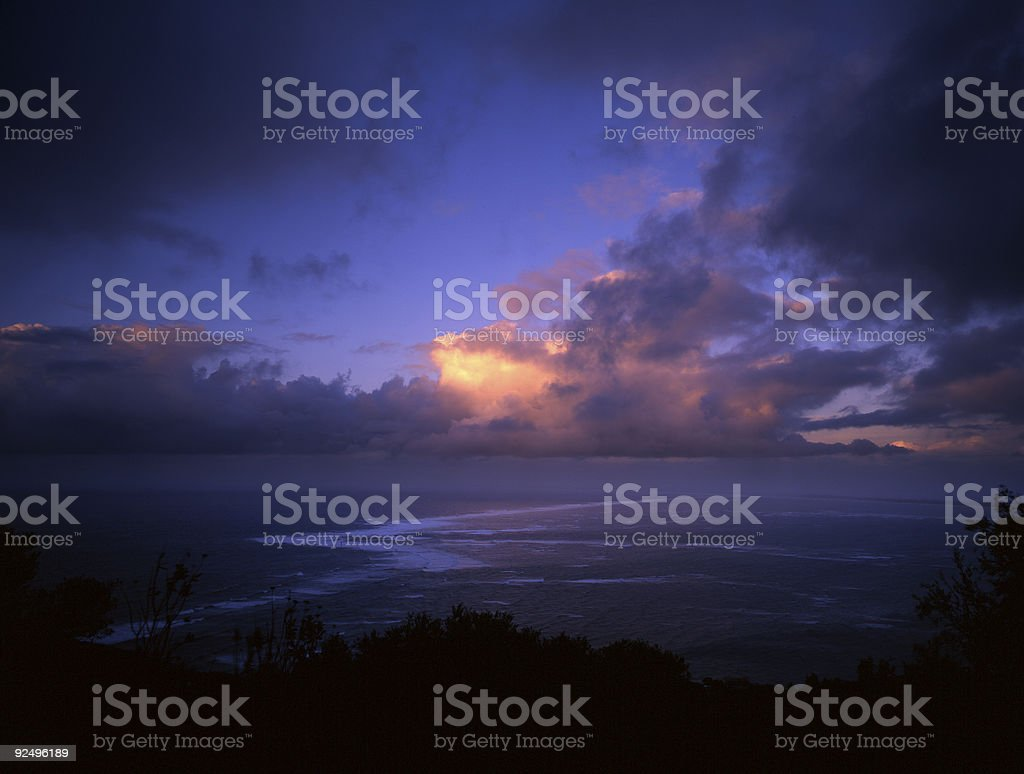 Intense Clouds royalty-free stock photo