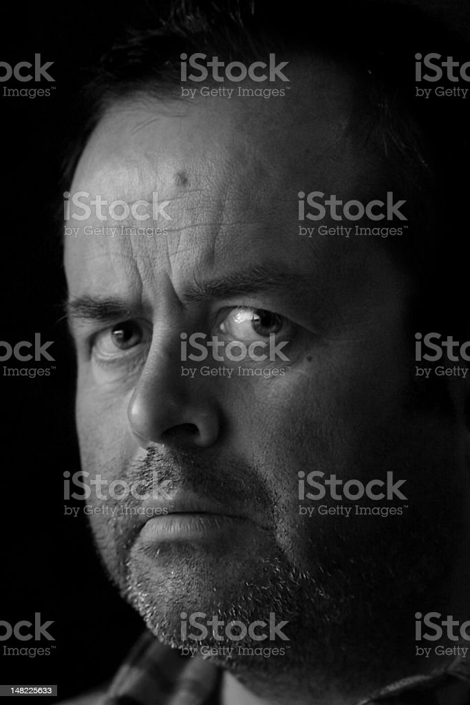 Intense Eyes 1 royalty-free stock photo