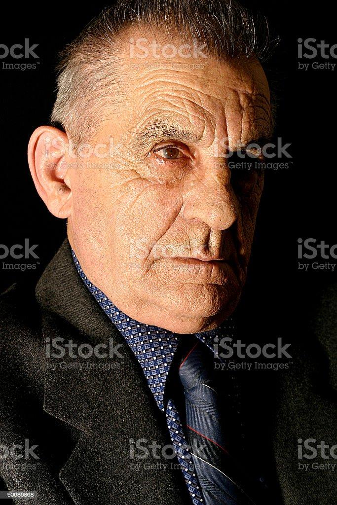 Intense Gentleman royalty-free stock photo