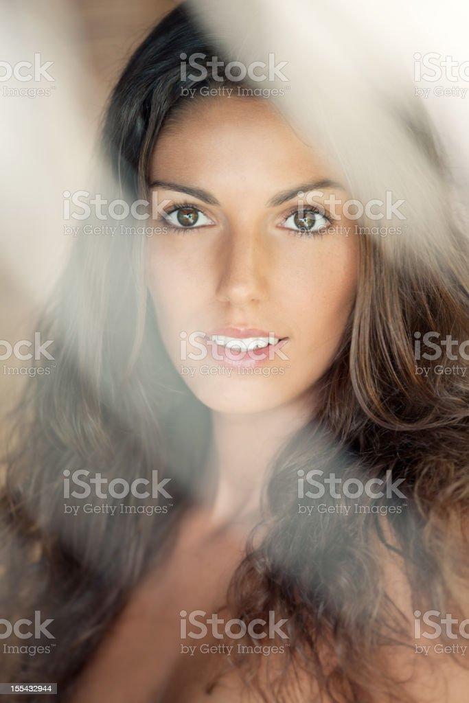 Intense Summer Portrait (XXXL) royalty-free stock photo