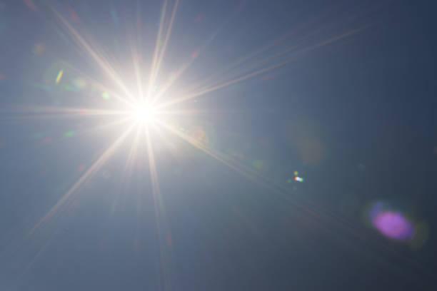 Intense sunlight (photo) stock photo