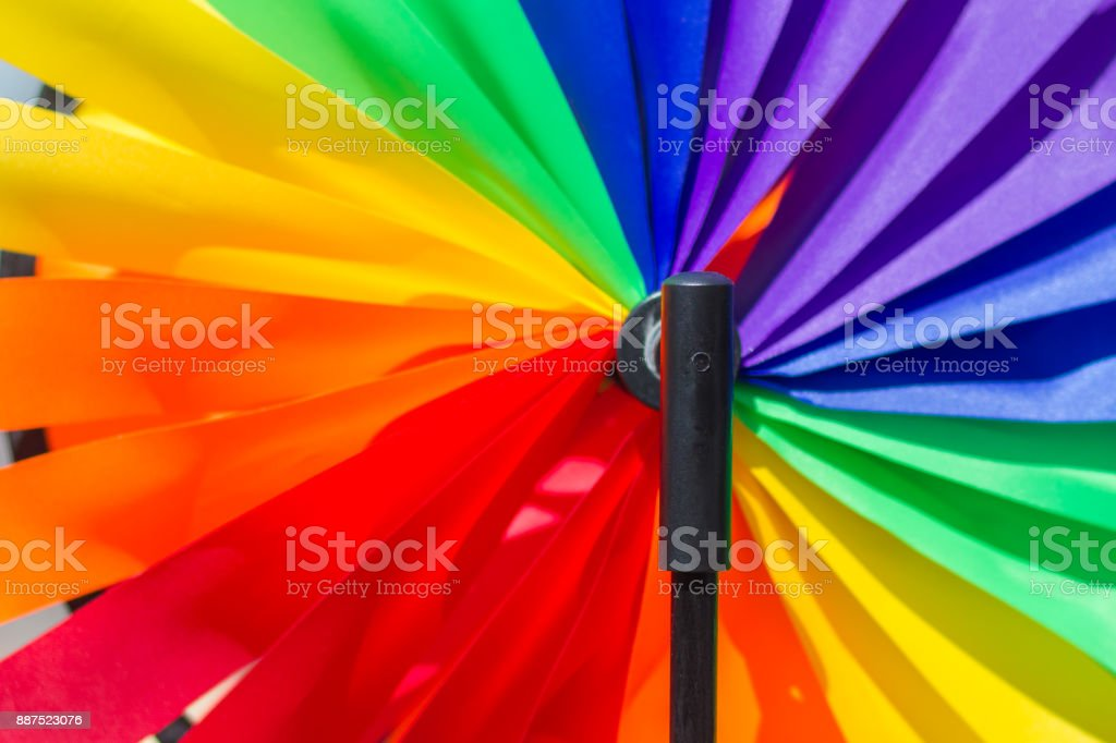 Intensity and brightness of a sunny day stock photo