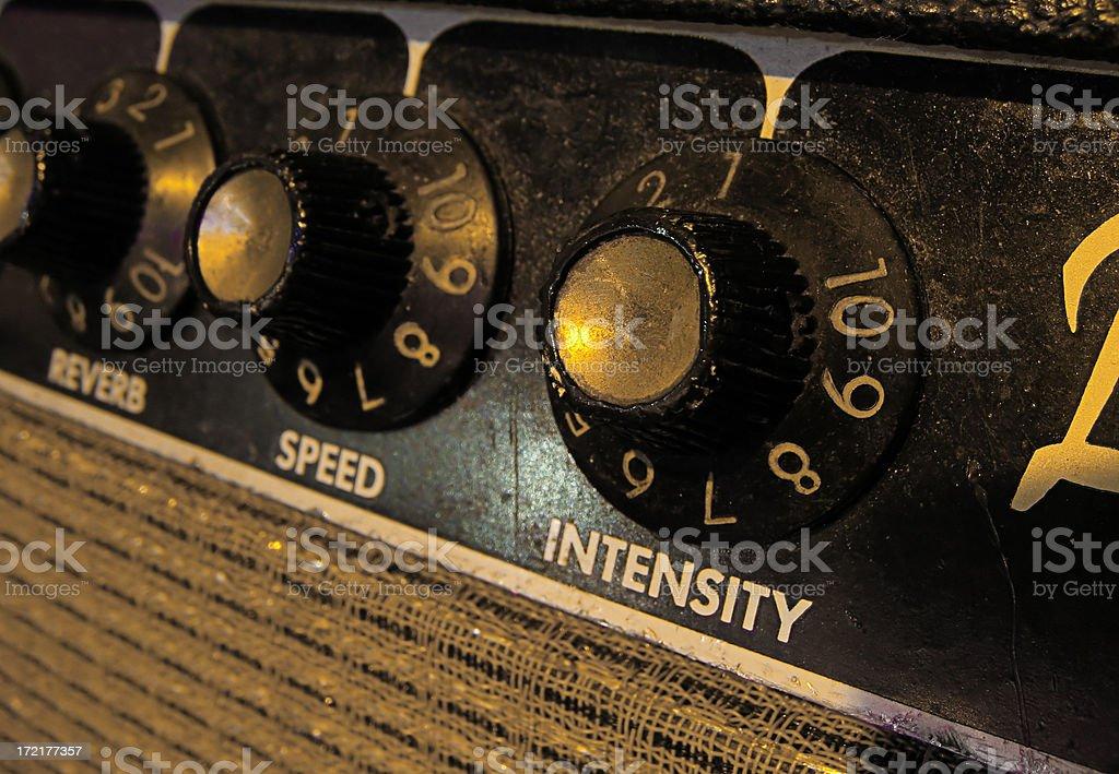 Intensity control stock photo