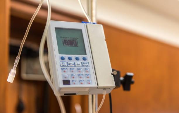 Intensive care equipment stock photo