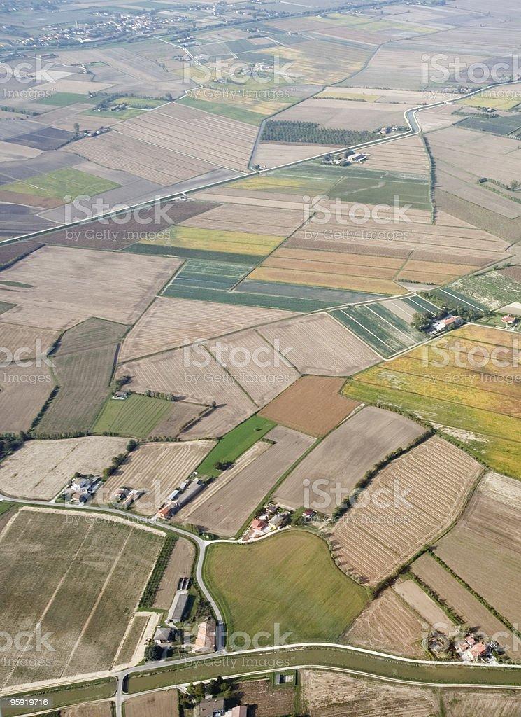 Intensive farming royalty-free stock photo