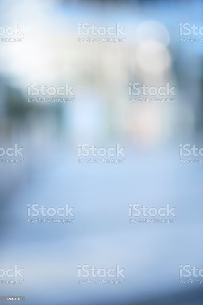 Intentionally defocused urban business background stock photo